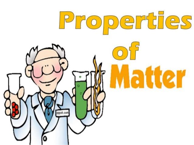 Day 1:  Properties of Matter